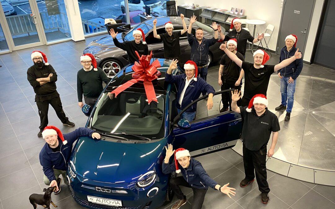 500 julehilsener fra Autovia